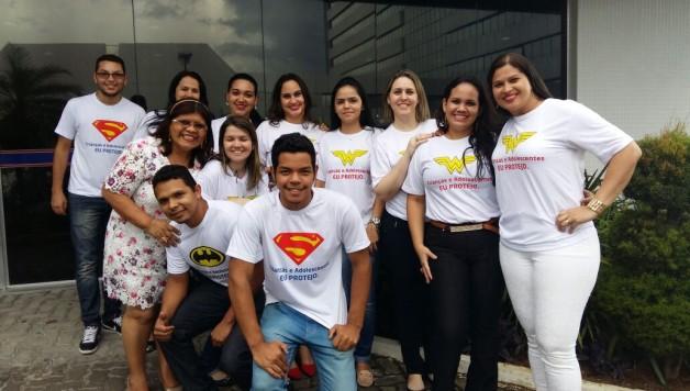 Equipe deputado Luiz Castro - Super-Heróis