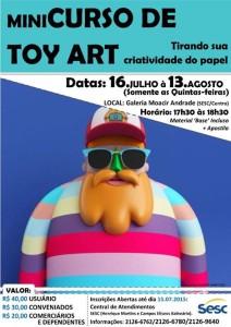 Mapingua Nerd - Curso de Toy Arte SESC
