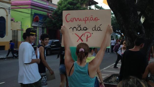 Mapingua Nerd - Manifestação Junho de 2013 Manaus (1)
