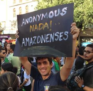 Mapingua Nerd - Manifestação Junho de 2013 Manaus (4)