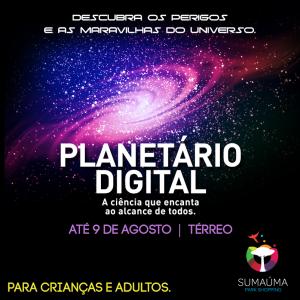 Mapingua Nerd - Planetário Sumaúma Park Shopping 2