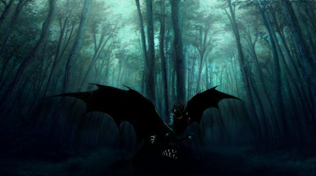 the_dark_forest_by_theblack_arrow-d6l4ug2