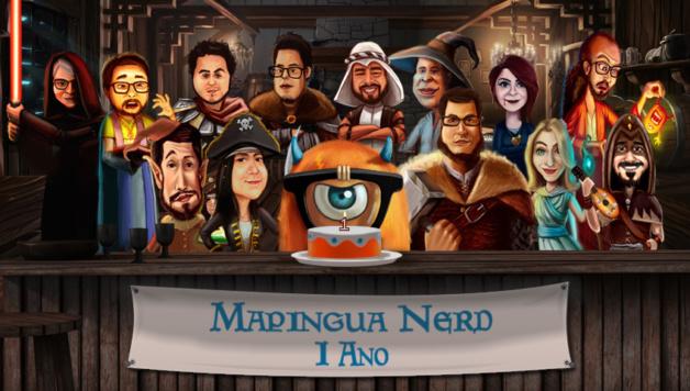 Capa Mapingua Nerd 1 ano