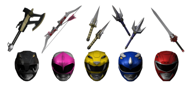 MN - POWER RANGERS ARMAS