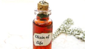elixir_of_life_potion_bottle_harry_potter_inspired_by_polymerclaymichelle-d6gchqj