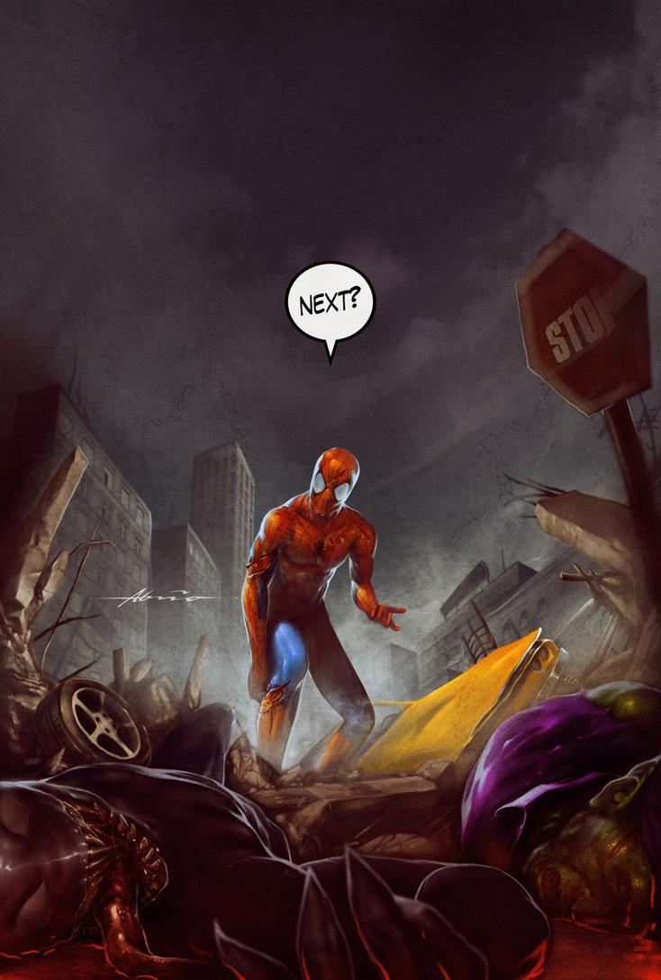 spiderman_by_abraaolucas